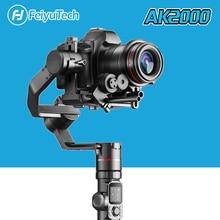 Originele In Voorraad Feiyutech AK2000 Psp Gimbal 3 As Stabilisator Voor Panasonic GH5 Sony Canon 5D Nikon Camera Feiyu