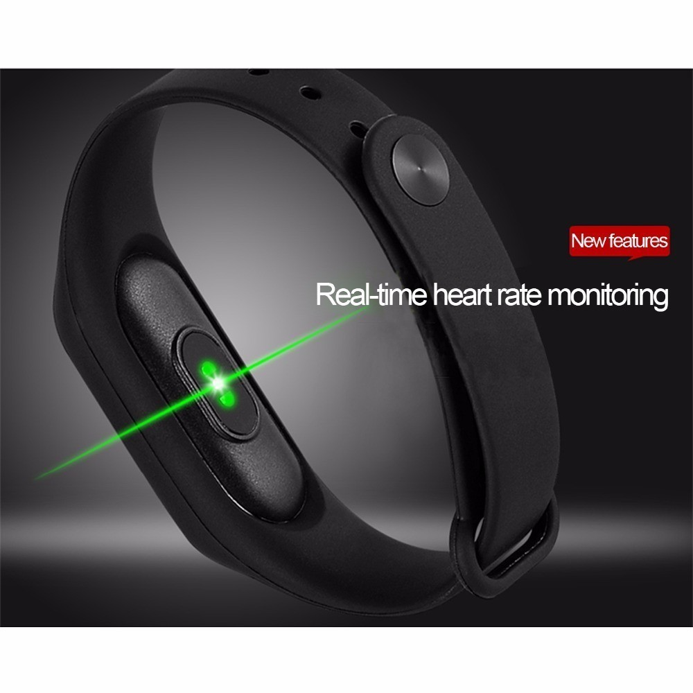 Smart Band Fitness Tracker Watch Men Women Watches Blood Pressure Health Wristband Bracelet Heart Rate Monitor Pk Xiaomi Mi Band in Smart Wristbands from Consumer Electronics