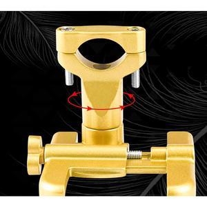 Image 5 - Универсальный держатель для мобильного телефона из алюминиевого сплава, Кронштейн для мобильного телефона мотоцикла, автомобильный навигационный кронштейн