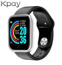 Kpay Sport Fitness Smart Watch D20 Fitness Bracelet Activity Tracker Heart Rate Monitor Blood Pressure Bluetooth Android Watch 2018 multi functional fitness tracker blood pressure heart rate monitor activity tracker bluetooth wireless smart watch 0109