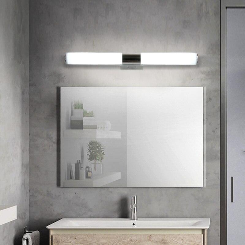 12/16/22W Mirror light Stainless steel & aluminum Modern LED Light Bathroom living room home hotel Wall Toilet lamp ZJQ0014 6