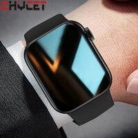CHYCET 2021 IWO inteligente reloj de las mujeres de los hombres HW22 Serie 6 deportes Smartwatch 44mm Fitness relojes de pulsera para Android, IOS, Iphone