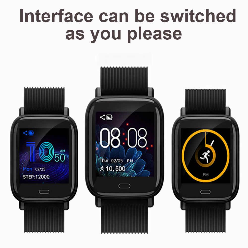 Reloj inteligente de banda inteligente 4 Bluetooth conectado hombres mujeres reloj inteligente para iOS iPhone Apple Xiaomi Huawei Sony Android Watch