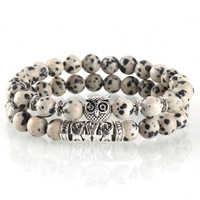 2pcs Couple Bracelets for Women Charm Paired Bracelet Men Luxury Best Friend Bracelet Fashion Jewelry Gifts Runes Boho Reiki