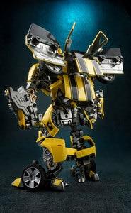 Image 4 - 変換ロボット WJ M03 バトルブレード MPM03 蜂 Warrior MP21 合金アニメアクションフィギュアおもちゃコレクション