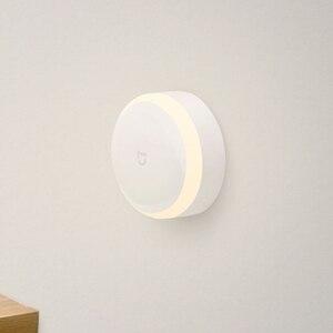 Image 2 - Xiaomi Norma Mijia Sensore di Luce di Notte Della Lampada Luminosità Regolabile A Infrarossi Photosensit di Controllo Auto Sensore Per Mi casa Intelligente