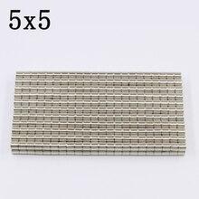 30Pcs 5x5 Neodymium Magnet…