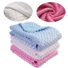 Fleece Blanket Swaddling Bedding-Set Quilt Diapers Bath Newborn-Products Soft Cotton