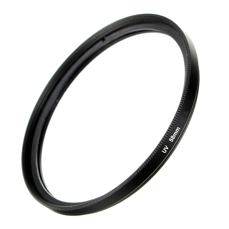 Camera Lens UV Filters 37 40.5 49 52 55 <font><b>58</b></font> 62 67 72 77 82 mm Filter Slim Frame Digital UV For Canon Nikon Sony Camera Lens Cases image