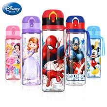 Disney – bouteille d'eau à boire directement pour enfants, gobelets Minnie Mickey Mouse, dessin animé, alimentation, sport à l'école, 2019
