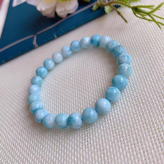 Bracelet Larimar Boules
