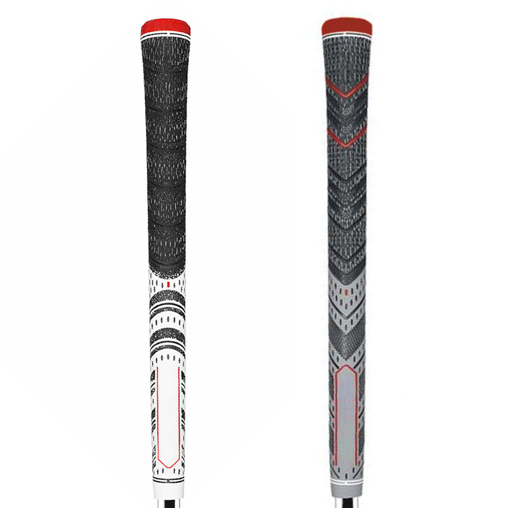 Multi Compound Golf Grips Standard Size All Weather Rubber Golf Club Grips For Clubs Wedges Drivers Irons Hybrids NEW