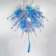 Современный синий кухонный светильник арт деко домашний комнатный
