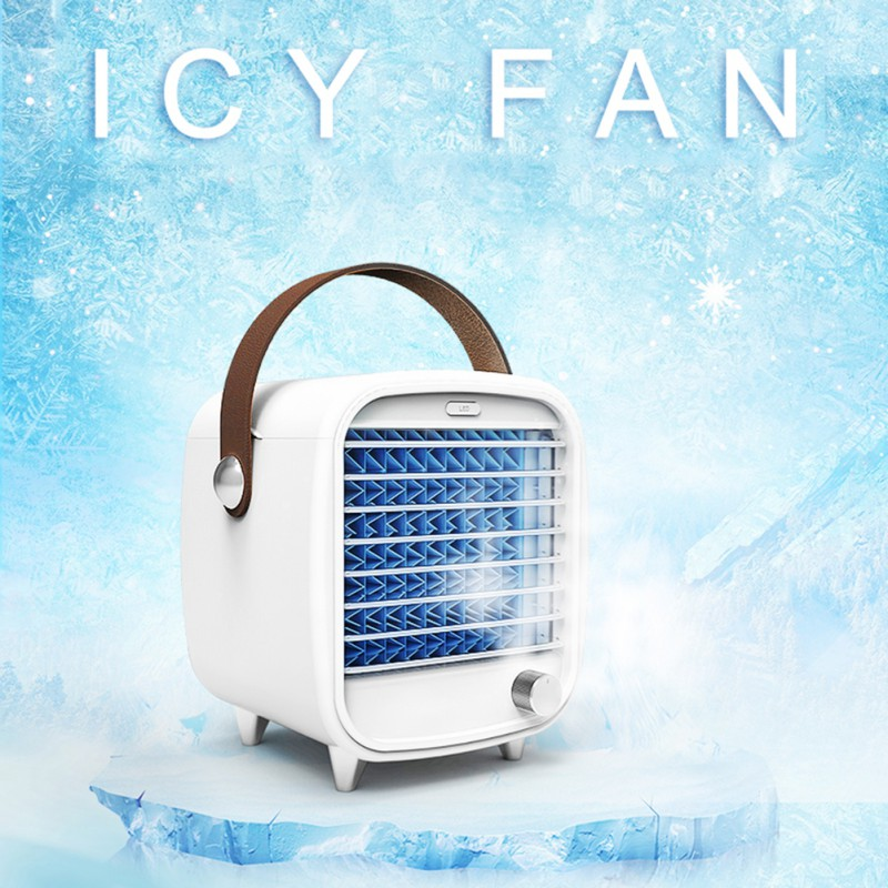 Portable Mini- Air Conditioner Fan Personal Space Air Cooler Quick Easy Way To Cool Air Conditioning Air Cooling Fan For Home 2