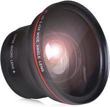 52Mm 0.43x Professionele Hd Groothoek Lens (W/Macro Gedeelte) voor Nikon D7100 D7000 D5500 D5200 D5100 D3300 D3200 D3100 D3000