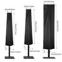 6 Size Waterproof Cover Outdoor Sunshade Umbrella Cover Garden Weatherproof Patio Cantilever Parasol Rain Cover Accessories