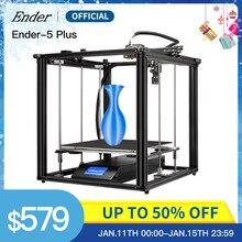 Ender-5 PIÙ 3D Stampante di Grande Formato di Stampa Auto livellamento, Dual Z-axis Potenza Off Riprendere Creality 3D