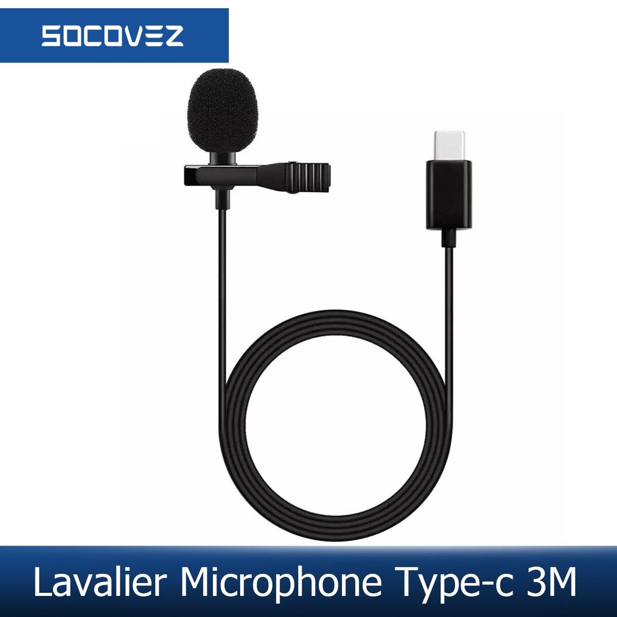 Профессиональный петличный микрофон socopos BassPal, всенаправленный микрофон на лацкане, легкое прикрепление на 360 °, только для устройств интерф...