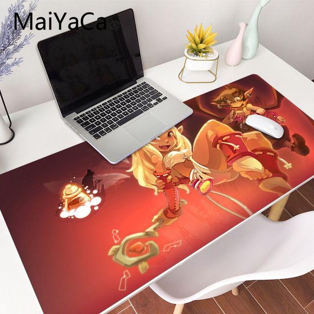 maiyaca haute qualite dofus jeu tapis de caoutchouc a la souris jeu tapis de souris gamer grand deak tapis 800x400mm produits d animation cadeaux