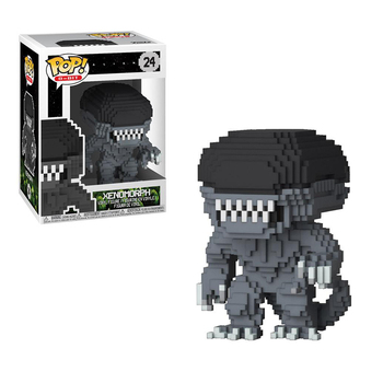 Funko Pop Alien 8bit XENOMORPH #24 Vinyl Action Figure Dolls Toys 1