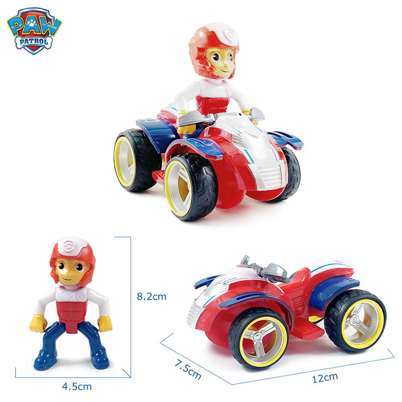 New Paw Patrol Toys Set Everest Tracker Dog Action Figure Paw Patrol Birthday Anime Figure Patrol Paw Patrulla Canina Toy Gift