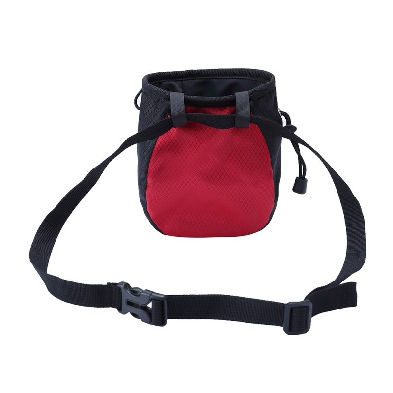 Adjustable Climbing Bags Waist Belt Chalk Bag Magnesium For Rock Climbing Gym With Powder Storage Pouch Drawstring