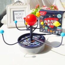 Diy Wetenschap Speelgoed Zonnestelsel Planetarium Model Kit Speelgoed Voor Kinderen Assembleren Geografie Educatief Speelgoed Onderwijs Levert
