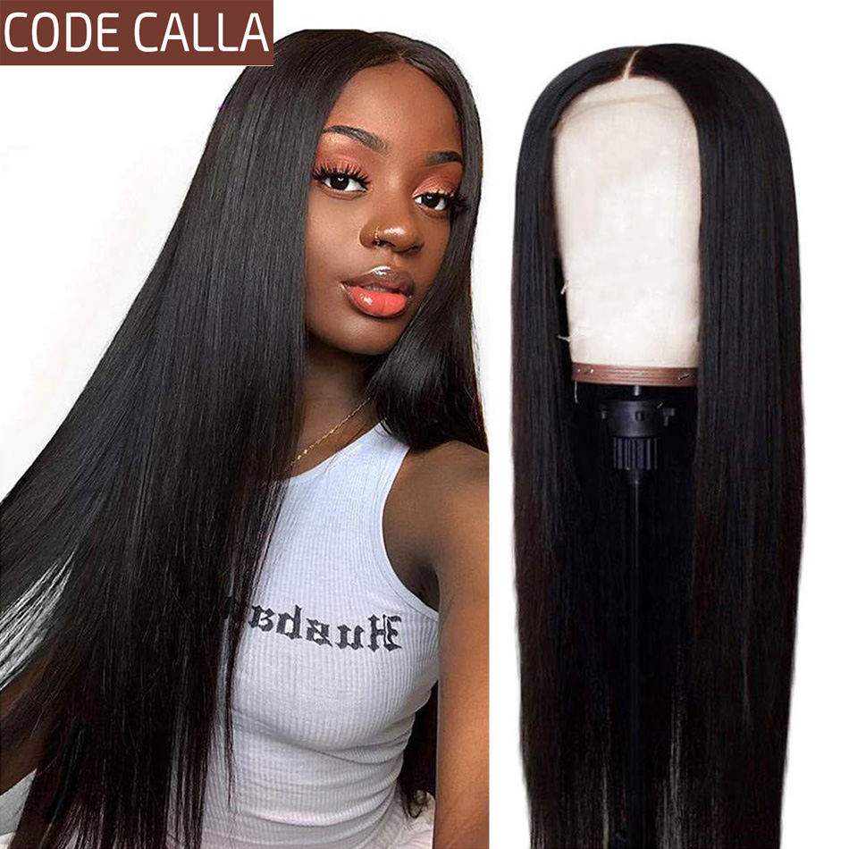Straight Lace Front Human Hair Wigs For Women 13*4 Lace Frontal Glueless Wig Pre-Plucked Hairline Malaysian Straight Hair Wigs