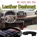 Для Toyota Camry XV30 2002-2006 кожаный коврик для приборной панели коврик от Солнца Чехол для автомобиля stlying 2003 2004 2005
