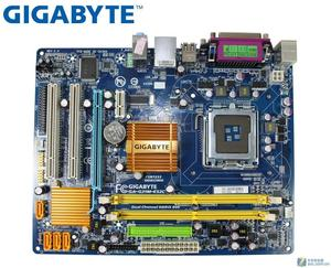 Gigabyte GA-G31M-ES2C original motherboard G31M DDR2 for intel LGA775 Solid-state integrated used mainboard PC