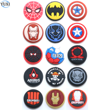 YuXi 1pc Silicone Analog Joystick Stick Grips Cover for PlayStation 4 PS4 Pro Slim PS3 Controller Sticks Caps for Xbox One 360