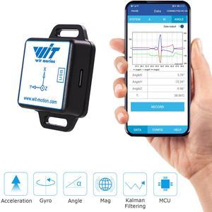 Image 3 - บลูทูธInclinometerดิจิตอลเข็มทิศ,BWT901CL AHRS Accelerometer + Gyro + มุม + Magnetometer(XYZ,200HZ,MPU9250) สำหรับPC/Android/MCU