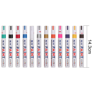13 Colors White Waterproof Rubber Permanent Paint Marker Pen Car Tyre Tread Environmental Tire Painting Dropshipping