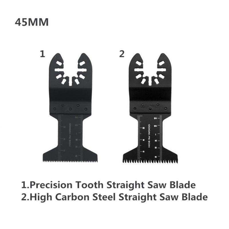 24 PCS Oscillating Multi Saw Blades High Carbon Steel Cutter Universal With Box