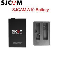 Nieuwe 100% Originele SJCAM A10 2650 mAh Backup Oplaadbare Li on Batterij En Lader Accessoires Voor SJCAM A10 WiFi sport Camera DV