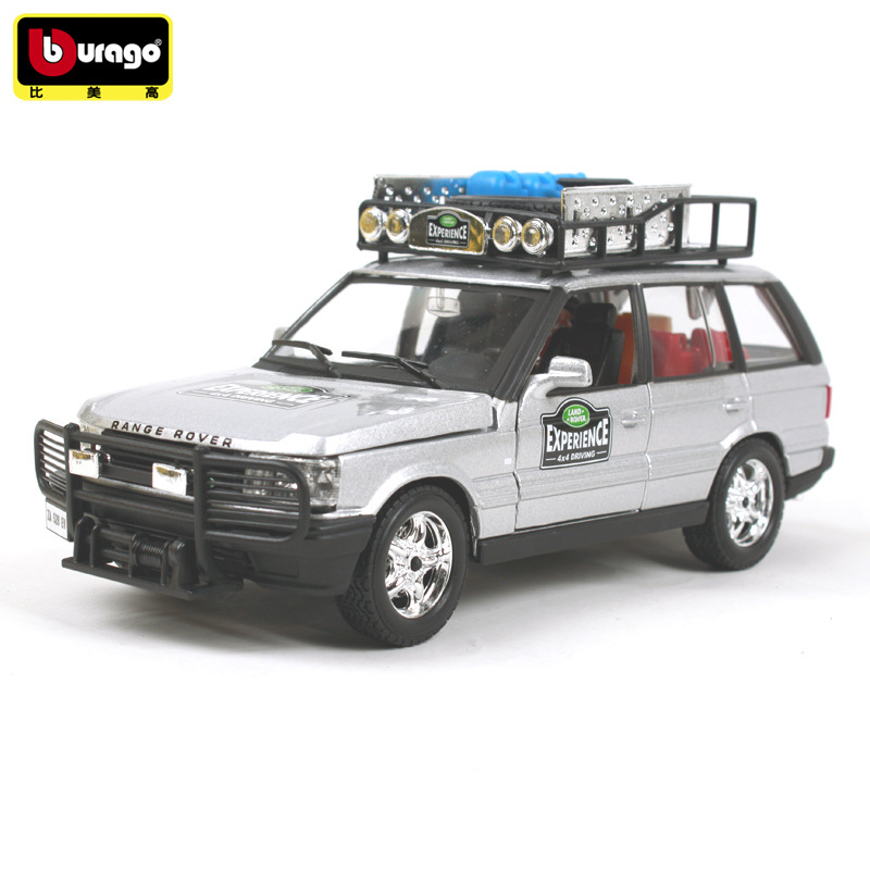 BBURAGO 1:24 LAD ROER Range Rover Off-road Vehicles Diecasts Simulation Alloy Car Model Collection Gift Toy Decoration With Box