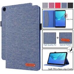 Роскошный чехол для Huawei MediaPad M5 lite 8,0, мягкий чехол-подставка с подставкой для планшета Huawei M5 Lite 8 дюймов, чехол, чехлы