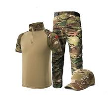 Suit-Set Scouting-Uniforms Kid Short-Sleeve Frog MC Tactical Children Summer NEW