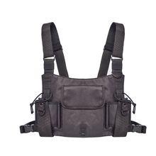 лучшая цена Man Chest Bag  Male Waist Bag Nylon Shoulder Bag for Talkie