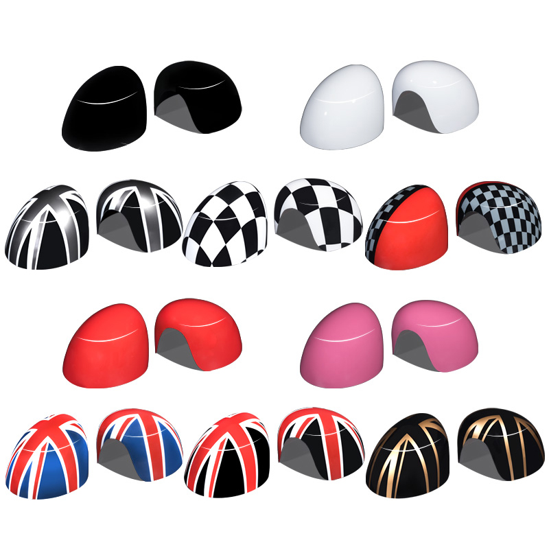 Image 5 - Car accessories exterior Car Styling For MINI COOPER F54 F55 F56 F57 F60 Car Rearview Mirror Decorative Sticker Protector Cover-in Car Stickers from Automobiles & Motorcycles