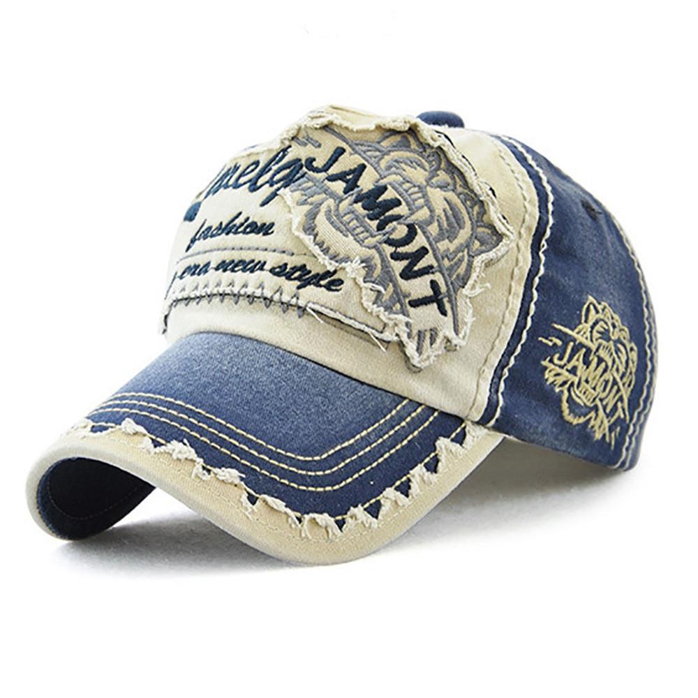 Women Embroidered Flower Denim Cap Fashion Baseball Cap Topee Casual Hats Summer Letter Mesh Caps Peak Caps Gorros#T2 5