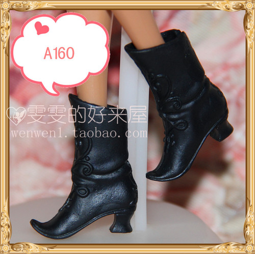 1/6 Doll Shoes Mix style High Heels Sandals Boots Colorful Assorted Shoes Accessories For Barbie Doll Baby Xmas DIY Toy 12