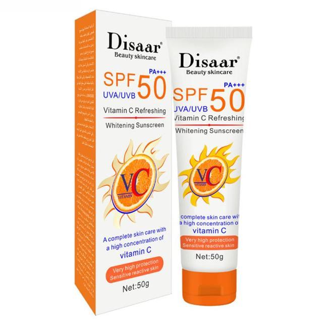 50ml Facial Body Skin UV Essence Sunscreen SPF 50+/60+ Anti Oxidant UVA/UVB Sunblock Cream Oil-control Moisturizing TSLM1 5