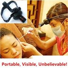 Лидер продаж уха светильник Профессиональный головной светильник для чистки ушей уход зум фары 4 светильник шестерни для ЛОР-врачи и диспенсеры