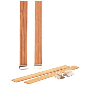 Tabs Candlestick Wax-Making-Accessories-Supplies Metal-Stand Square Wooden Sustainer