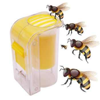 Plastic One-Handed Bee Catcher Marker Bottle Queen Bee Marking Queen Bee Catcher Plush Beekeeper Tool Beekeeping Supplies - DISCOUNT ITEM  32% OFF Home & Garden