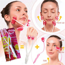 Face-Up-Roller-Massage Slimming Double-Chin Remove Anti-Wrinkle 2-In-1 Diy Professional