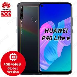 Global Version Huawei P40 Lite E MobilePhone 6.39 inch full screen Punch Display 48MP Triple AI Camera Fingerprint unlock