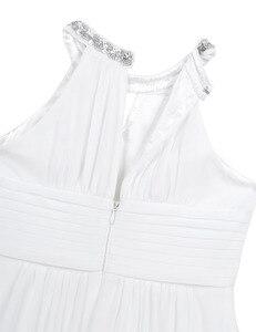 Image 5 - Iiniim ילדים נסיכת שמלת בנות ילדים שיפון Weeding שמלת נצנצים הלטר פרח שמלת ילדה Vestidos מסיבת תחפושות Teen