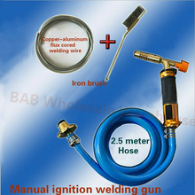 Torch-Machine-Equipment Ignition-Welding-Gun Soldering Gas with Hose-And-Brush for Cooking-Heat